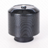 Geiwiz Luftfilter Powerfilter Alu Kappe 28-44mm Carbon-Look